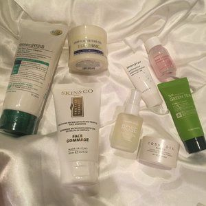korean + western skincare bundle - all new items!